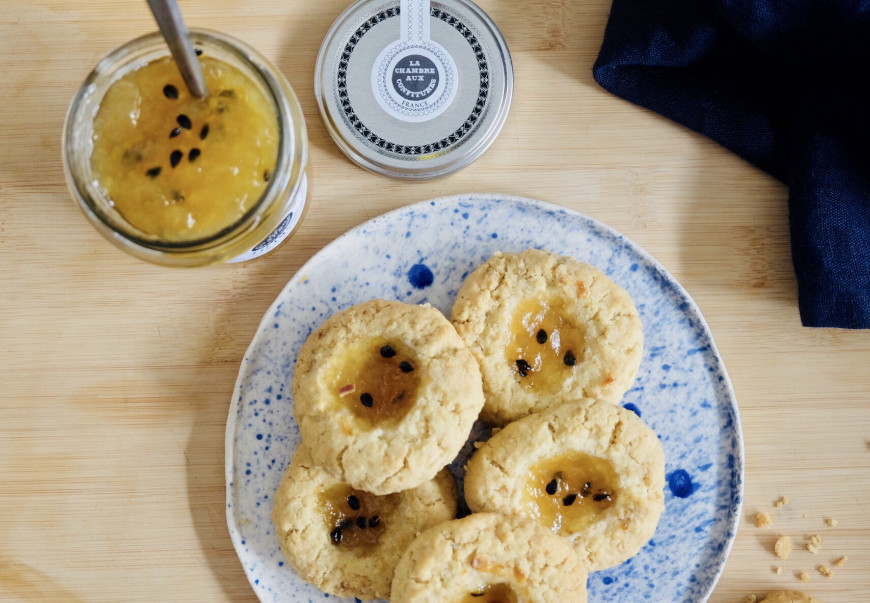 RECIPE FOR OATMEAL BISCUITS AND PEAR, PASSION & KALAMANSI JAM